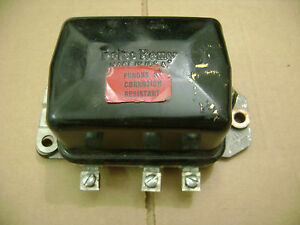 56 62 Ford Dodge Car Truck Delco Remy 12v Voltage Regulator 26 35amp 1119274e