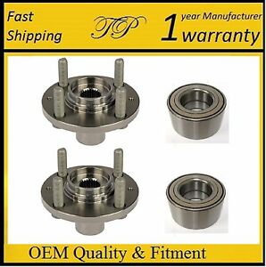 Honda Civic Lx Si 1992 2000 Front Wheel Hub Bearing Kit With Abs Model Pair