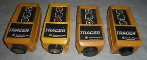 Lot Of 4 Spectra Physics Laserplane Tracer Model St2 20 Fast Shipping
