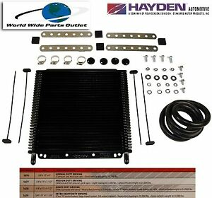 Automatic Transmission Oil Cooler Hayden 679 oc 1679 Plate And Fin Type