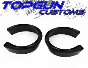 For 1994 2008 Dodge Ram 1500 Front 2 5 Black Coil Spacer Leveling Lift Kit 2wd