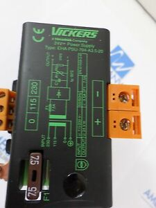 Used Vickers Power Supply 24v Eha psu 704 a3 5 20 Nice