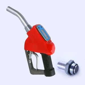 1 fuel Gasoline Diesel Petrol Oil Electronic Gun Nozzle Dispenser