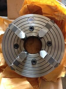 Buck Forkardt 4 jaw Power Chuck 10in Dia lathe 3in Center Hole