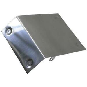 Speedway Motors Raw Aluminum Heat Shield For Oe Style Chevy Starter