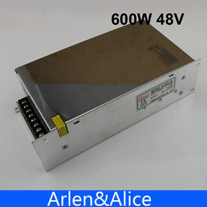 600w 48v 12 5a 220v Single Output Switching Power Supply Ac To Dc Smps