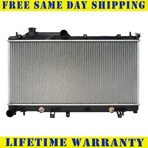 Radiator For 2005 2015 Subaru Legacy Impreza Outback Forester 2 5l Fast Shipping
