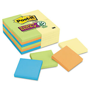 Note Pads Office Pack 3 X 3 Canary marrakesh 90 pad 24 Pads pack