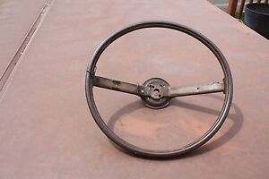 70 71 Mustang Cougar Boss 302 Two Spoke Rim Blow Steering Wheel