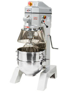 Brand New Axis Ax m40 40 Qt Quart Planetary Dough Mixer Free Shipping