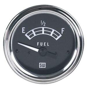 Stewart Warner 82211 Standard Fuel Level Gauge Electric 2 1 16 Inch