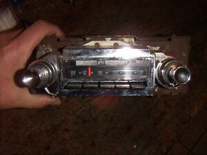 1963 64 Chevy Impala Ss Conv Rare Am fm Radio Works Great
