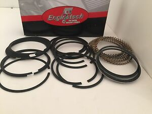 Engine Tech Chevy Sbc Cast Piston Rings Sbc 327 350 383 5 64 5 64 3 16