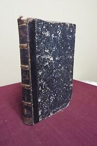 1835 French Bible Paris Many Engravings