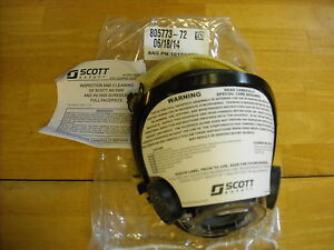 Av 3000 Scott Mask W Kevlar Netting Size Medium Scba Air Pak