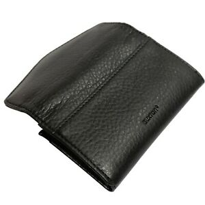 Buxton Business Card Credit Card Case Wallet Black