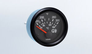 Vdo Gauge Oil Temp 300f Genuine Cockpit 310 936 2 52mm Bracket W harness