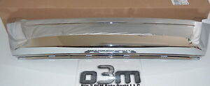 2011 2012 Ford Edge Front Lower Chrome Grille Moulding New Oem Bt4z 8200 E