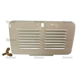 Ford 8n Tractor Air Cleaner filter Door cover grille grill panel W Screw 8n9661