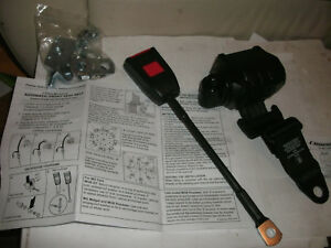 Mgb Seat Belt 3 Point Retractable Securon With Reel Cover Fits Midgets 1973 80