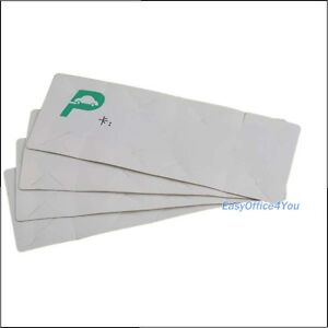 Iso18000 6c 6b 18meters Uhf Windshield Tag Rfid Sticker For Vehicle Parking