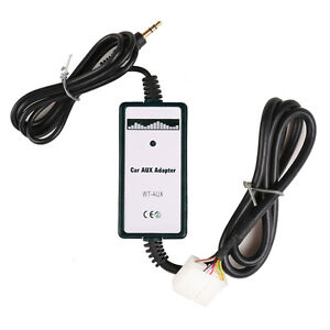 Car Aux In Adapter Mp3 Player Radio Interface For Honda Accord Civic Odyssey Fit