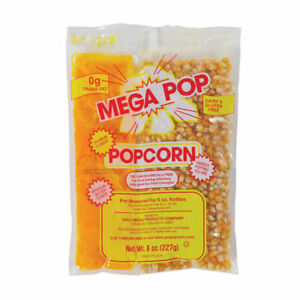 Popcorn Kit For 6 Oz Kettles Kit Includes Popcorn Oil Salt Case Of 12