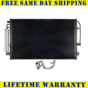 A C Condenser For 2013 2018 Nissan Altima Maxima 4cyl V6 Fast Free Shipping