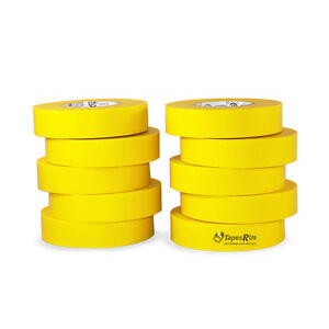 Tapessupply 10 Rolls Pack Yellow Electrical Tape 3 4 X 66 Ft