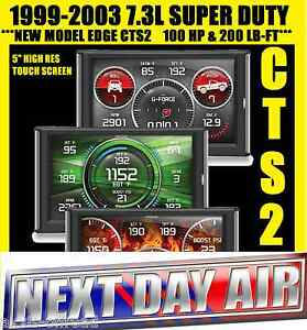 Edge Products 85400 Cts2 Diesel Programmer Monitor For 99 03 Ford F250 F350 7 3l