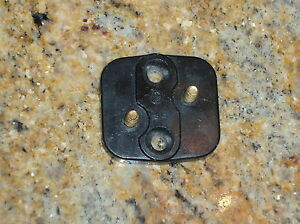 Ford 1932 37 Ignition Switch Terminal Plate Body Column Drop Flathead Key