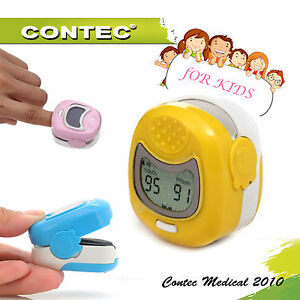 Kids Child Pediatric Lcd Fingertip Pulse Oximeter Pr Spo2 Monitor Blood Oxygen