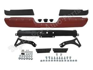 Painted Red Rear Bumper Pad Hitch Bracket Screws For 1994 2001 Dodge Ram Pickup