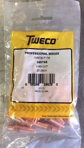Tweco 16st 45 Contact Tip 045 Tapered