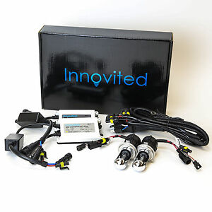 Innovited 55w Bi xenon Hi low Dual Beam Conversion Hid Kit H4 H13 9004 9007 H13