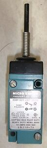 Micro Switch Limit Switch Lsj1a 7a 10 Amp 600 Volt Heavy Duty