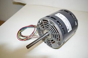 Emerson 1 2hp Ac Motor K55hxfwc 7953 208 240vac 50 60hz 1075rpm 3 Speed