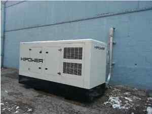 Barely Used 200 Kw Hipower Diesel Generator