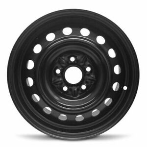 Replacement New Steel Black Wheel Rim 16x6 5 Inch For Toyota Camry 2007 2011