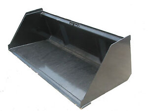74 Snow Litter Bobcat Bucket Skidsteer Attachment W quick Attach Free Ship