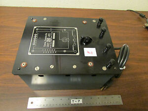 F Cenco Central Scientific No 80250 Resistance Capacitance Inductance Box