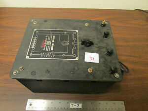 H Cenco Central Scientific No 80250 Resistance Capacitance Inductance Box