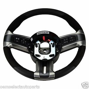 Oem New 2013 2014 Ford Mustang Gt500 Suede Leather Steering Wheel Dr3z3600ab