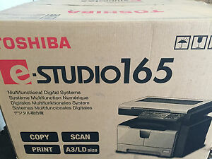 New Factory Sealed Toshiba E studio 165 Copy Print Scan New In Box Nib