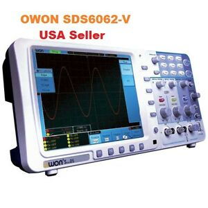 Owon Sds6062 v 60 Mhz 2 Ch 8 Lcd Memory Digital Storage Oscilloscope Svga bag
