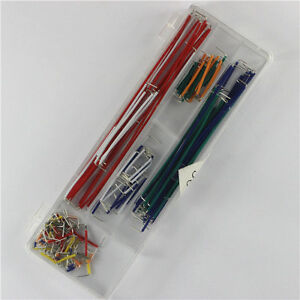 2pcs 140pcs Solderless Breadboard Jumper Cable Wire Kit Box Diy For Arduino Z3