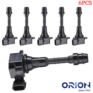 Ignition Coil Pack Set Of 6 For 3 5 4 0 V6 Altima Maxima Frontier Xterra Uf349