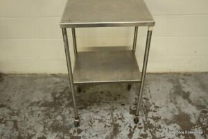 Stainless Steel Medical Rolling Utility Cart