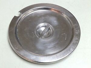 11 1 2 Round Stainless Steel Ss Buffet Steam Table Soup Lid Cover Free Ship