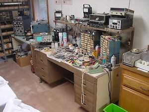 Large Inventory Of New Old Stock Electronic Components Test Equipment